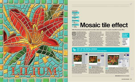 tutorial after effects mosaic mosaic tile effect tutorial excerpt photoshop creative
