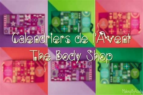 Shop Calendrier De L Avent Calendrier De L Avent The Shop 2017 Makeupbyazadig