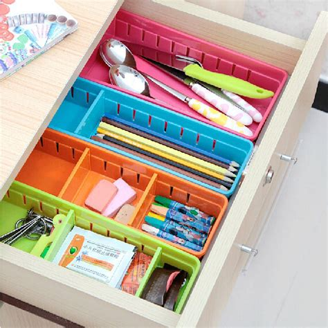 Stationary Drawers by Aliexpress Buy 4pcs Plastic Drawer Storage Boxes