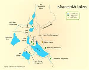 mammoth lakes map