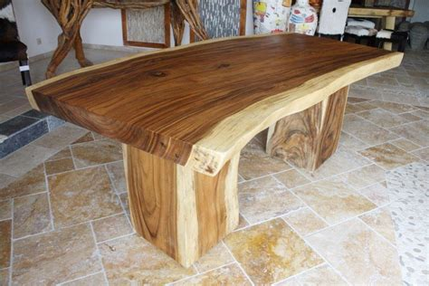 Holzstamm Als Tisch by Tisch Aus Einem Baumstamm Der Tischonkel