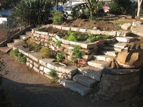 terracing a sloped backyard passive rainwater harvesting terraces christopher