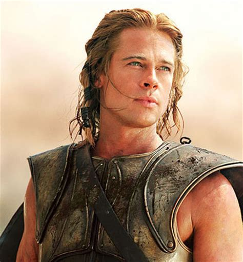brad pitt achilles achilles troy photo 1107280 fanpop