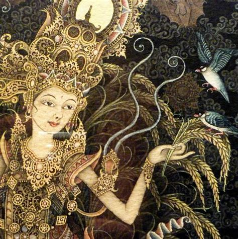 Dewi Sri dewi sri the rice goddess the broom closet
