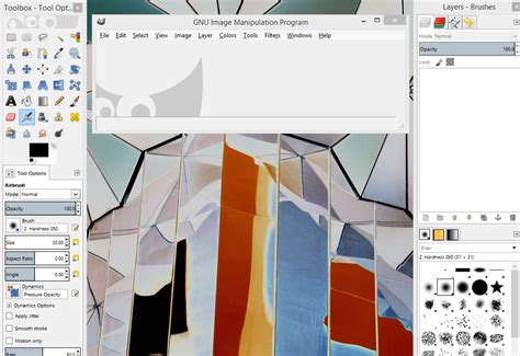 gimp web design layout tech junkie blog gimp layout single window mode