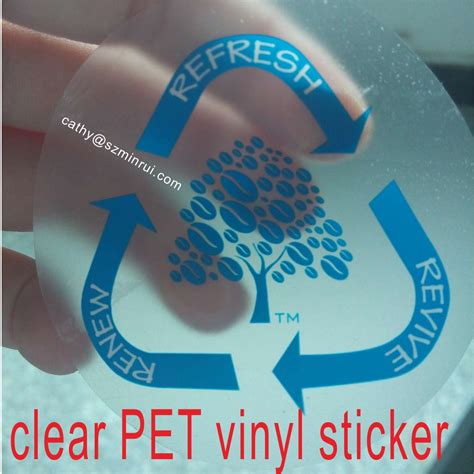 Stiker Vinyl Print And Cut Custom Tahan Air Ukuran 7 X 7 Cm custom clear vinyl stickers with logo manufacturers and suppliers in china