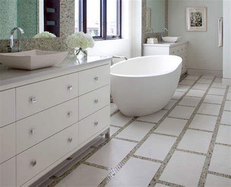 White Bathroom Floor Tile Ideas by 26 White Glitter Bathroom Floor Tiles Ideas And Pictures