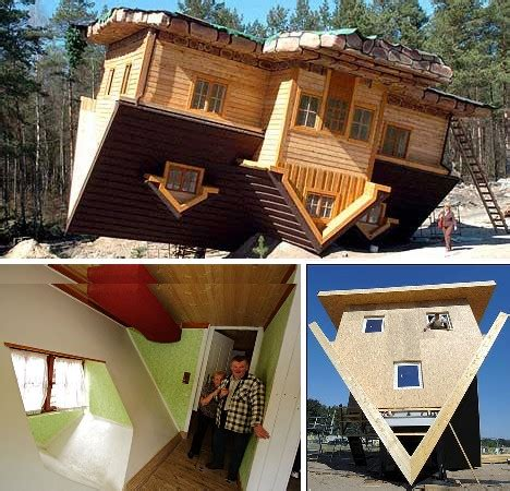 upside down house poland flip this home 10 unbelievable upside down houses urbanist