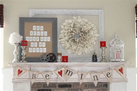 valentines mantel 15 beautiful s day mantel ideas my style