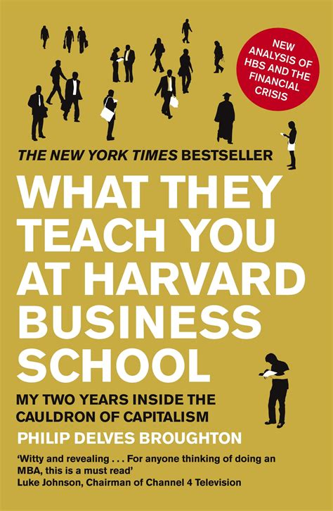 Harvard Business School Mba General Management by Book Review What They Teach You At Harvard Business