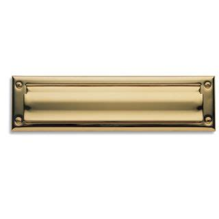 interior letter box cover baldwin 0014003 lifetime polished brass package sized