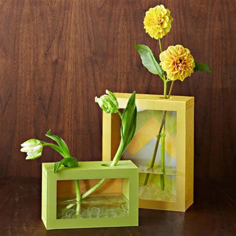 How To Make A Vase diy flower vases that are chic fancy