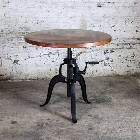60 best copper table images on pinterest copper table edison copper top crank table customize your size we can