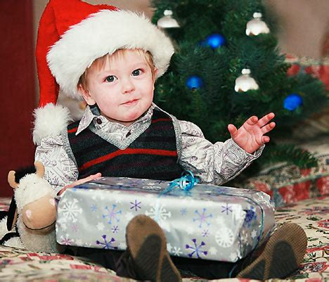 best christmas presents for 9 month old for 20 month jarvis the best gift of all is his sight daily mail