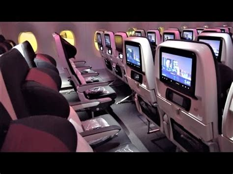 qatar  economy class review youtube