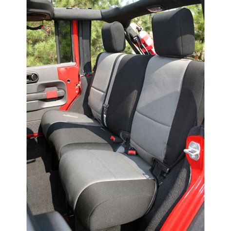 jk seat covers all things jeep rear seat cover for jeep wrangler jk 2