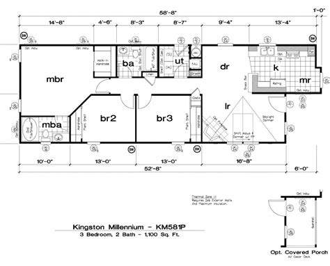 golden west manufactured homes floor plans golden west kingston millennium floor plans 5starhomes