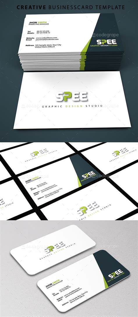 Creative Business Card Print Templates by Creative Business Card Template Print Codegrape