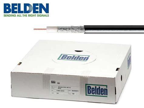 Kabel Belden Koaxi 225 Ln 237 Kabel Belden H125 Al Pe 7mm Ant 233 Na Cz
