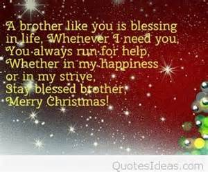 wonderful merry christmas for my brothers quotes