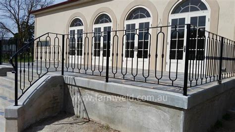 wrought iron fencing balustrades farmweld adelaide
