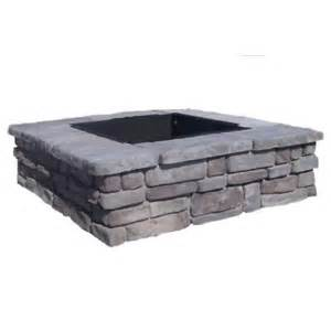 pits home depot fossill random gray square pit rgsfp