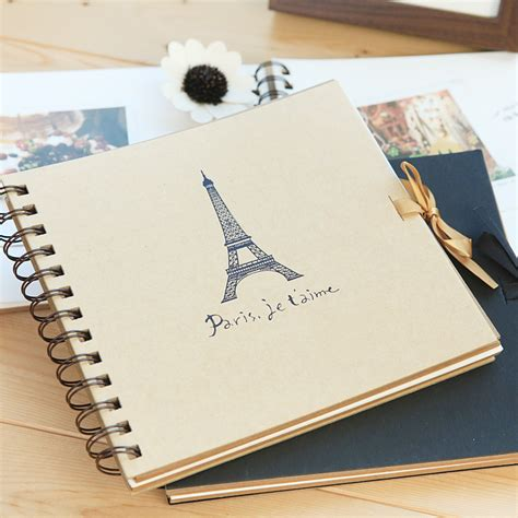 Photo Album Handmade - 2 color diy photo album vintage scrapbook crafts paper