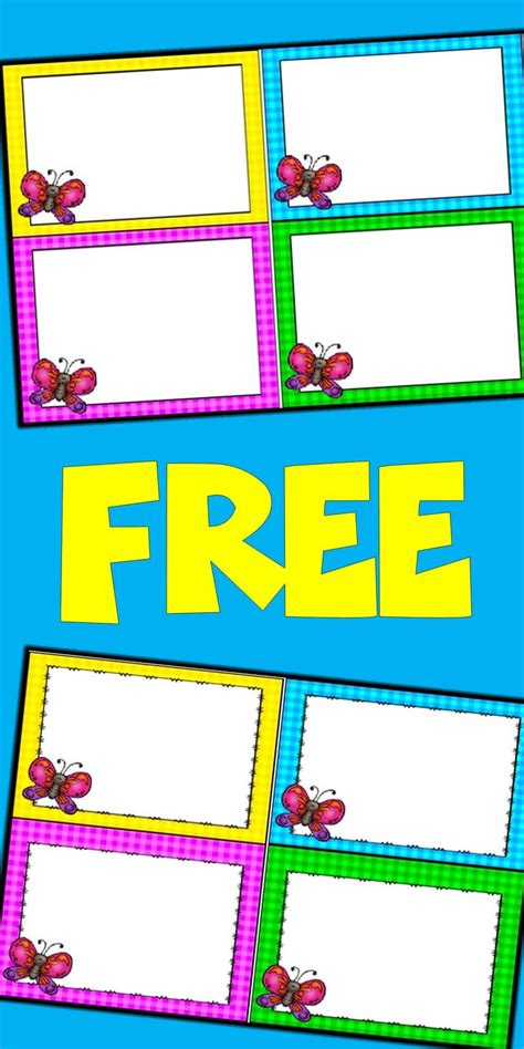 flashcard template free floppiness info
