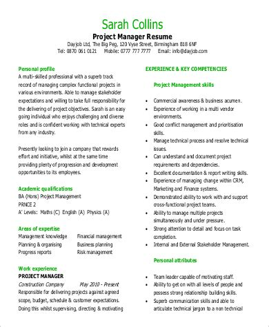 office manager functional resume exle functional resume sle 9 exles in word pdf