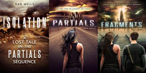 partials by dan wells top ten tuesdays covers i wish i could redesign maggie s towering pile of books