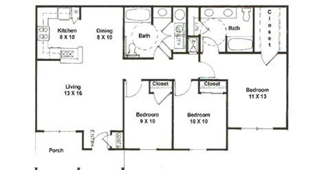 floor plan 3 bedroom 2 bath bedroom bath apartment floor plans and house plans bedroom