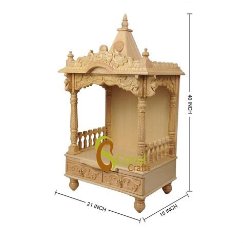 top 30 home wooden temple design 17 best mandir images
