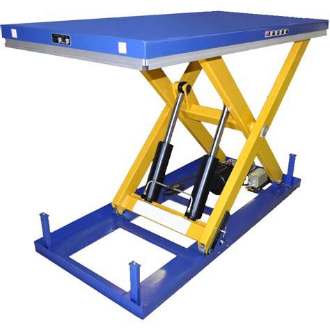 scissor lift table scissor lift tables scissor lifts
