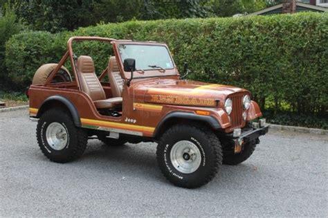 1982 Jeep Cj5 1982 Jeep Cj5 Renegade Sport Utility 2 Door Chevy 350 For