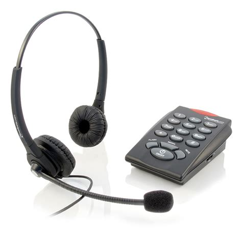 Headset For Phone executive pro chattaway binaural single line telephone headset
