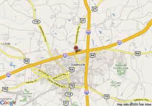 map of econo lodge statesville statesville