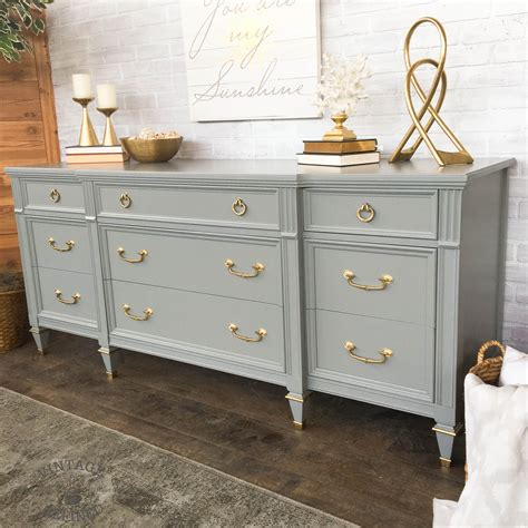 antique gold dresser hardware grey painted dresser with gold hardware vintage refined