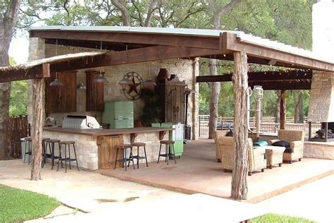 rustic outdoor kitchen ideas 27 best outdoor kitchen ideas and designs for 2018