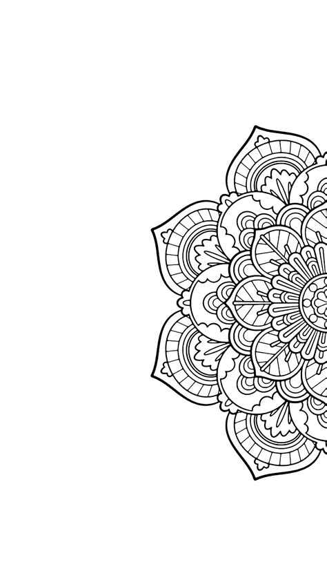 mandala wallpaper pinterest mandala phone wallpaper black and white phone wallpapers