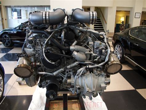 Engine Of Bugatti Veyron Bugatti Veyron W16 Engine And Gearbox At Hr Owen