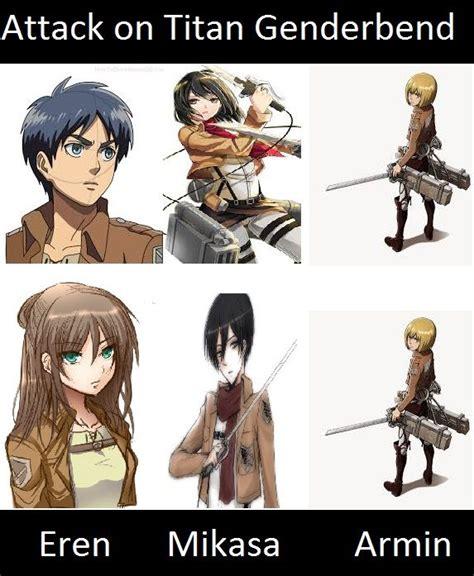 google theme attack on titan attack on titan genderbend google search anime