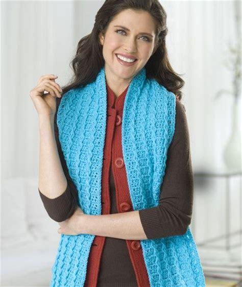 jennifer s scarf free crochet pattern from red heart yarns pinterest the world s catalog of ideas