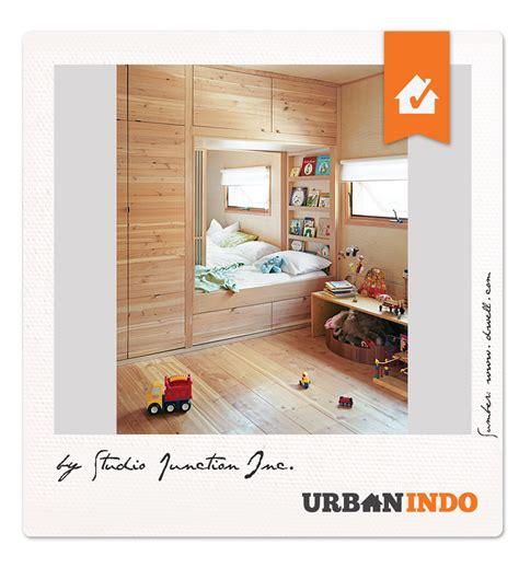 desain kamar nuansa kayu kamar kayu yang hangat untuk anak tercinta urbanindo