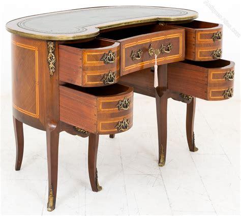 mahogany ladies writing desk mahogany french kidney shaped ladies writing desk