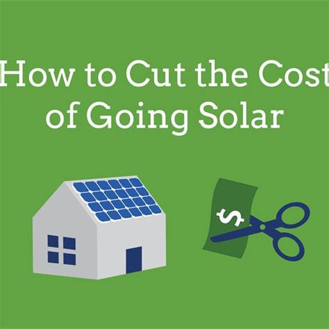 How To Cut The Costs Of Going Solar Renewable Energy Earth News