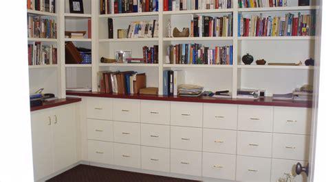 built in filing cabinets painted bookcase with