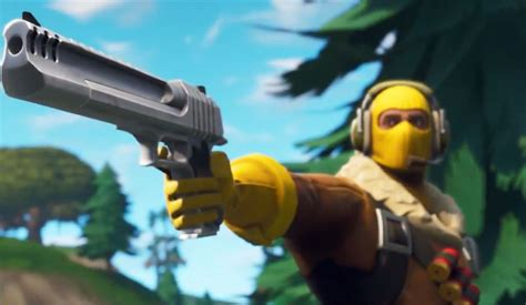 fortnite pictures fortnite in arrivo la pistola pesante per battaglia reale