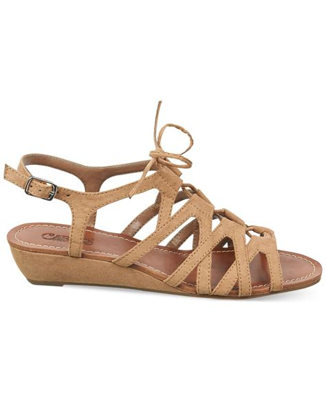 brown two sandals carlos by carlos santana kiara 2 gladiator sandals in