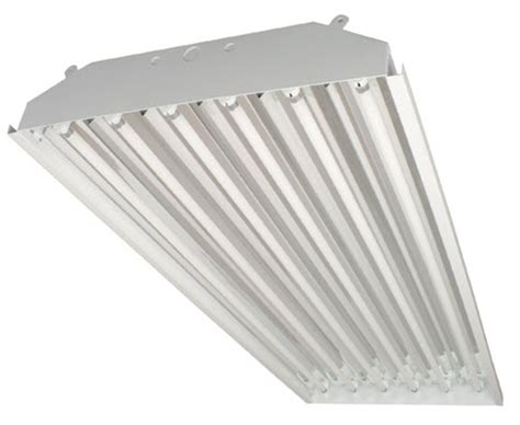 What Is A High Bay Light Fixture T5 High Bay Fluorescent Light Fixture 6 L T5 High Bay Warehouse Lighting Fixtures