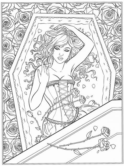 coloring book for goths 802 best images about colouring on dovers gel